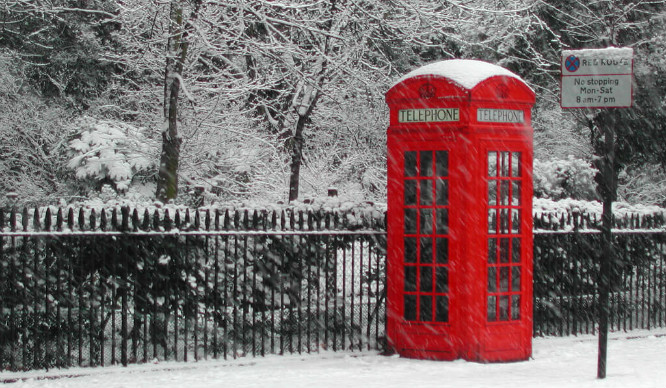Will London Get A White Christmas? Or Is There Just Snow Way Of Telling?