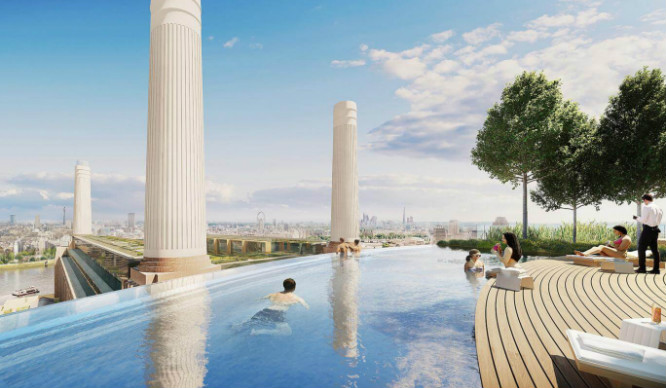 Is This London Rooftop Swimming Pool The Most Incredible In The City?