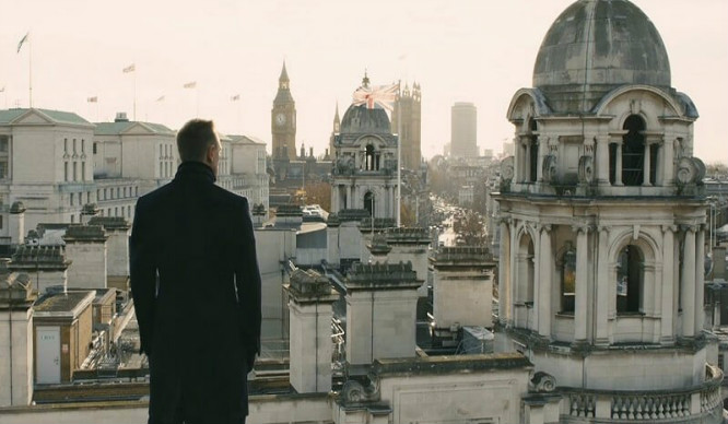 7 Stunning Shots Of London In The James Bond Films