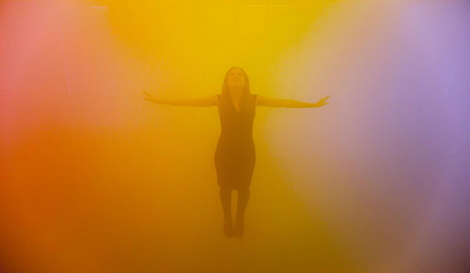 London's Psychedelic Multi-Coloured Mist Room Is Brightening Up Our Selfies