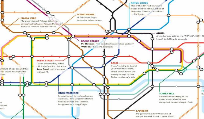 London Punderground: Hilarious Joke Tube Map That's Just The Ticket