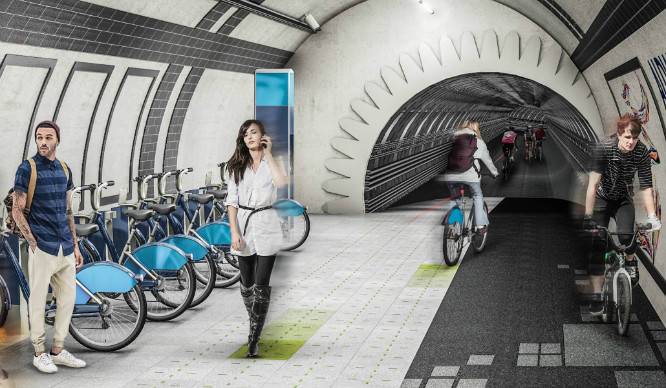 Is There Going To Be A London Cycle 'Underline' In 2016?