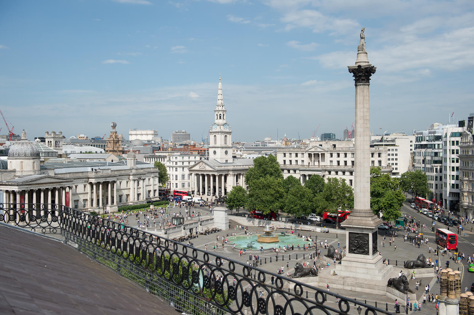 Trafalgar Square_photo credit 'Cities Talking'