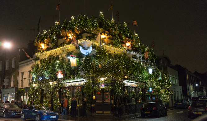 5 Festive Pubs To Roast Your Chestnuts In This Christmas In London
