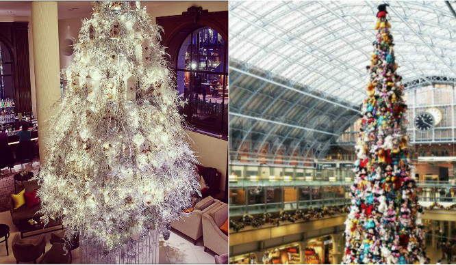7 Incredible Public Christmas Trees That You Need To See In London