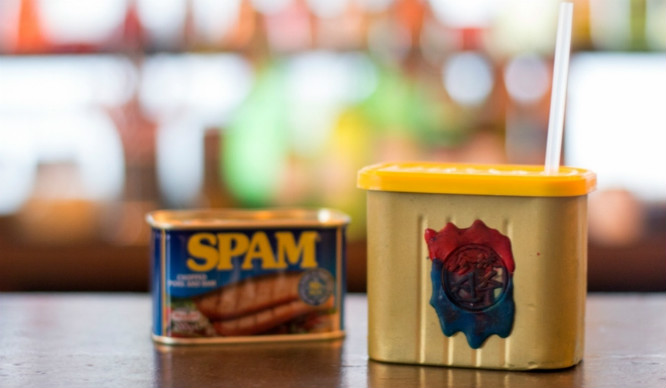 This Is Not Spam! But Spam Cocktails Are Now A Thing In London…