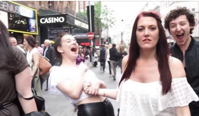 Prankster Tricks A Load Of Londoners Into Saying Something Awfully Rude…