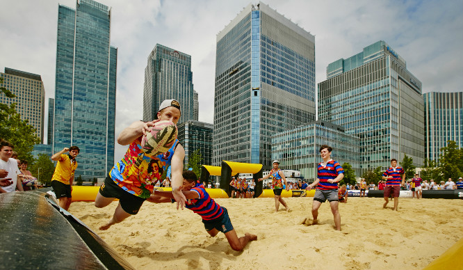 A Beach Rugby Tournament Is Coming To London This Summer!