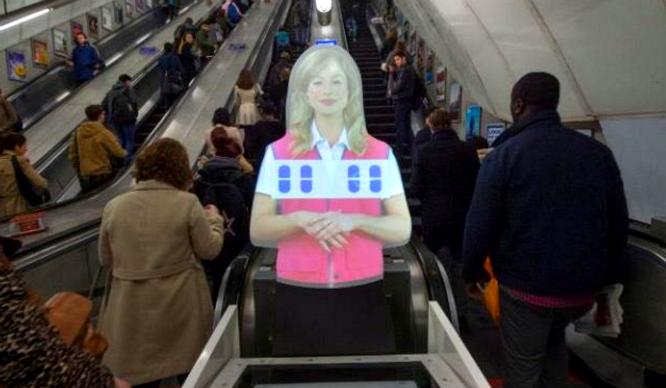 Sooooo. The Creepy Hologram At Holborn Station Has Started Singing…?!