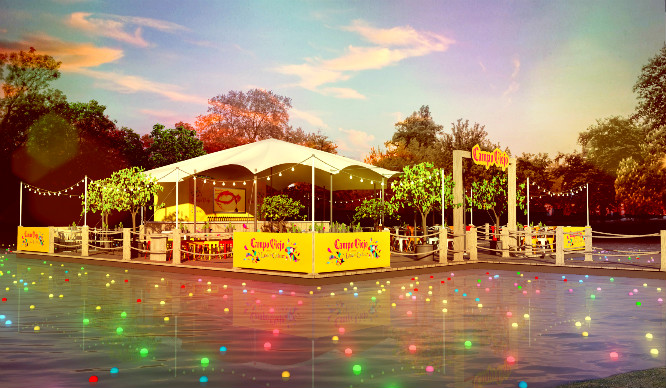 A Beautiful Floating Pop Up Bar Is Coming To Clapham Common!
