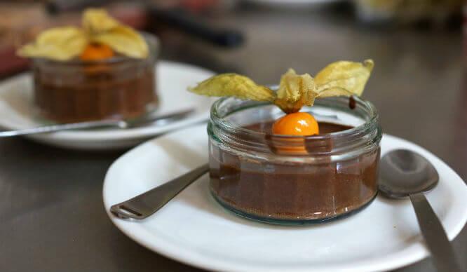 Bonnington Cafe Chocolate Dessert