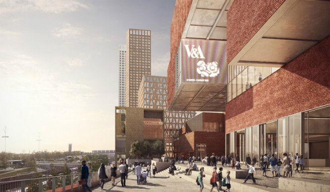 This Is What Plans For Olympic Park's New 'Cultural Quarter' Look Like
