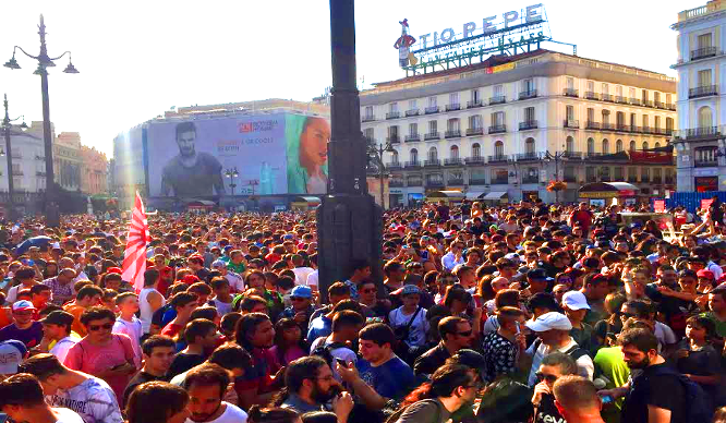If You Thought London Was Pokemon Crazy… Look At Madrid!