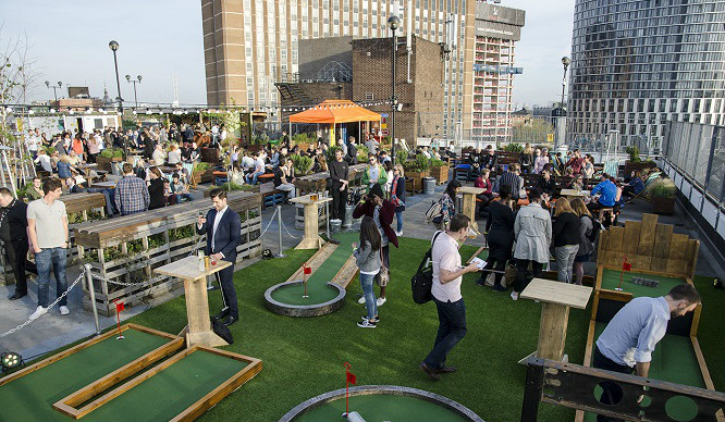 Seriously, Roof East Is The London Rooftop Bar That Has It All