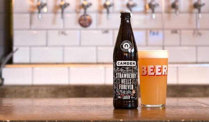 Camden Town Brewery Are Giving Out Free Strawberry Beer!