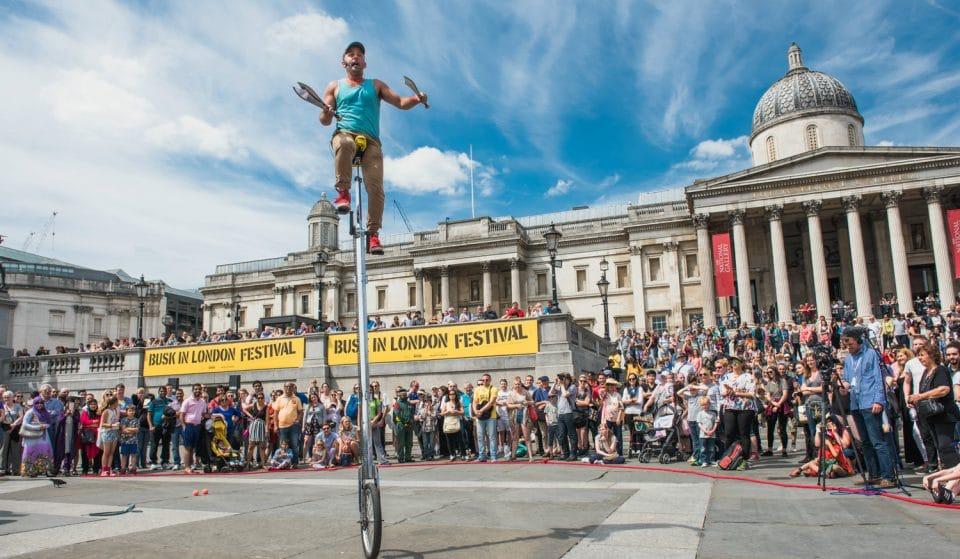 International Busking Day Takes Over Trafalgar Square This Weekend