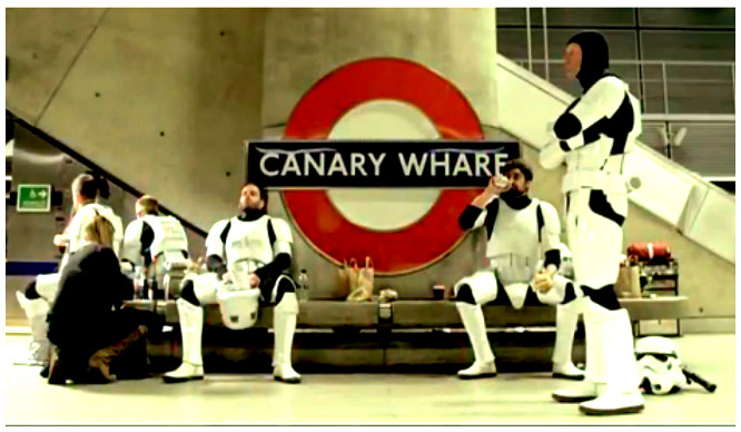 Director Admits That Canary Wharf Station Was Used In The Latest Star Wars Film