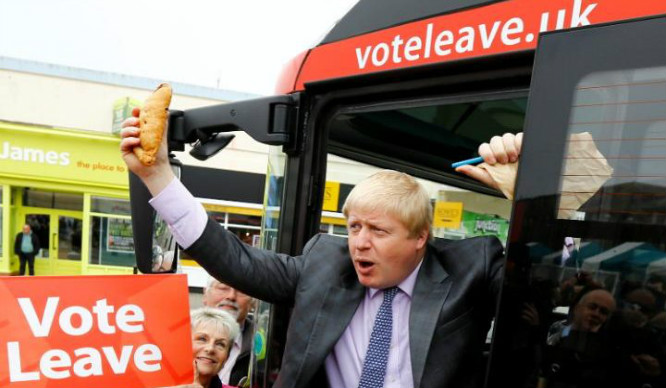 The 'Lying' Leave Campaign Bus Is Back… But It's Looking A Little Different