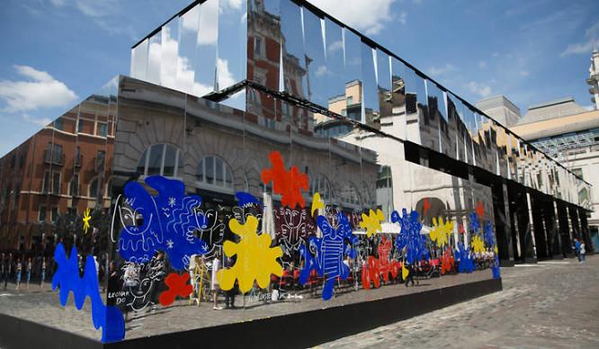 Oo La La! Covent Garden's Had A Paint Job!