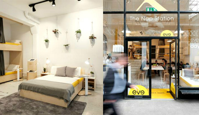 Nap Lovers Rejoice! The Nap Station Has Opened In London