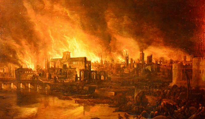 There's A New Exhibition Marking 350 Years Since The Great Fire Of London