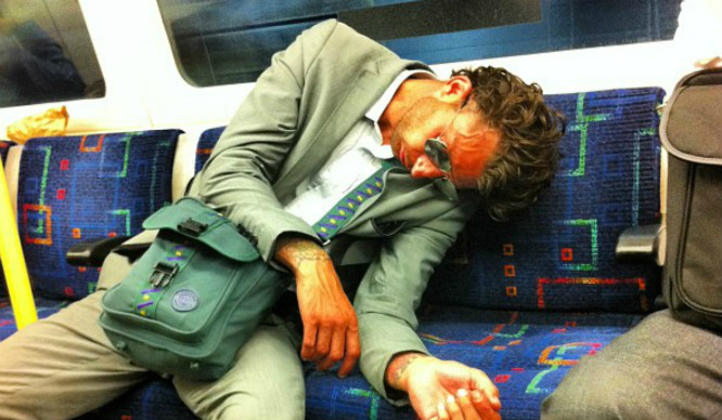7 Types Of People You'll Definitely See On The Night Tube