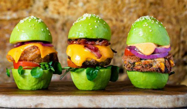 Avocado Burger Buns 'Avo Landed In London!