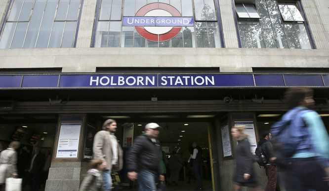 Bad News If You Change At Holborn On Your Morning Commute