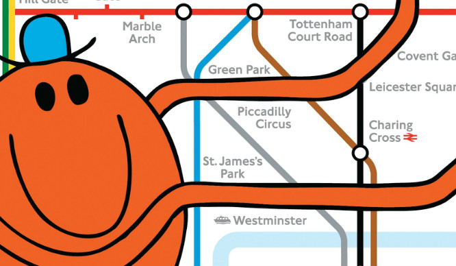 25 Mr Men And Little Miss For Every London Situation