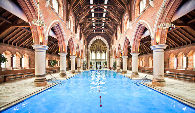 There's An Incredible Swimming Pool Inside A Stunning London Church
