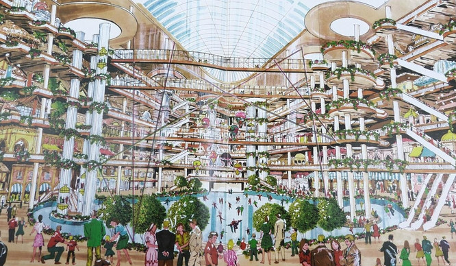 Remember When Battersea Power Station Was Going To Be A Theme Park?