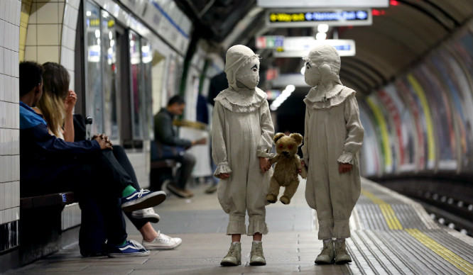 This Is Probably The Creepiest Thing We've Seen On London's Underground