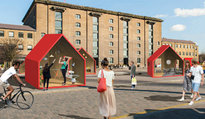 7 Giant Monopoly Houses Are Popping Up In King's Cross