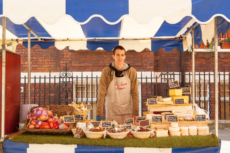 market-autumn-london