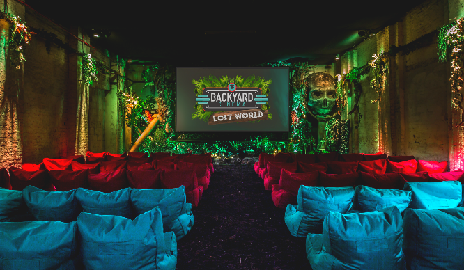 Backyard Cinema Returns! And It's Taking London To A Lost World…