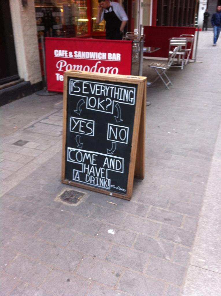 pub sign london