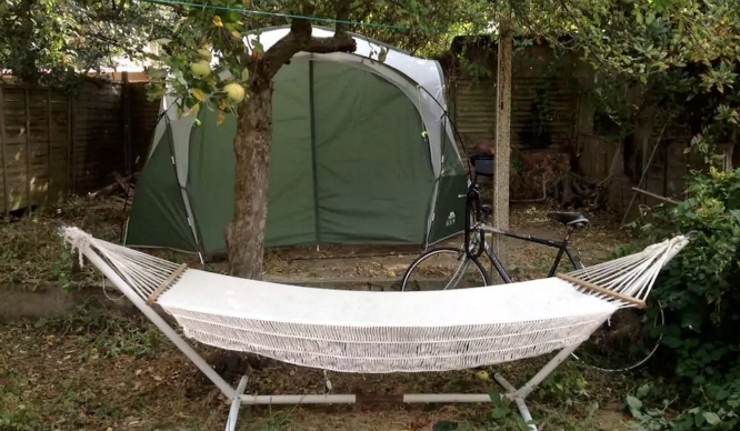 You Can Rent This Tent In A Londoner's Back Garden, But It Will Cost You