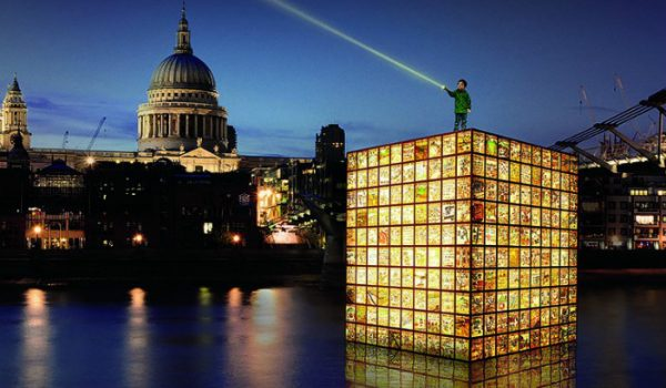 Have You Seen This Giant Floating Lantern On The Thames?