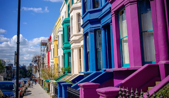 8 Of London's Most Colourful Streets To Put A Smile On Your Face