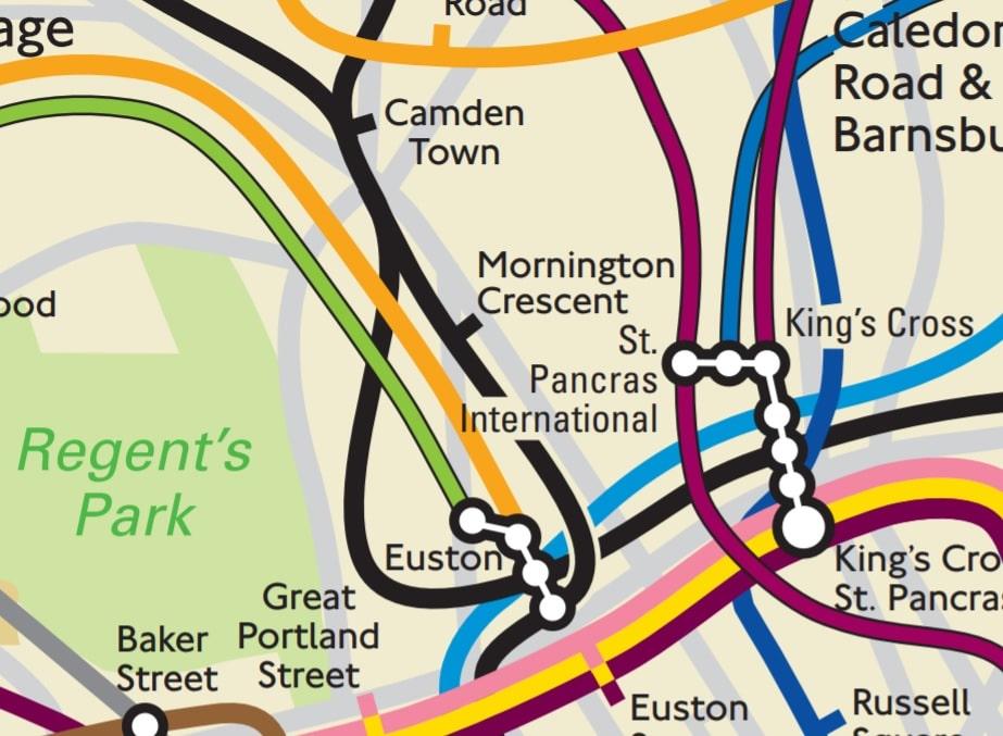 Tube map lies