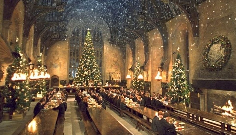 Muggles Can Enjoy A Magical Christmas Dinner Inside Hogwarts' Great Hall