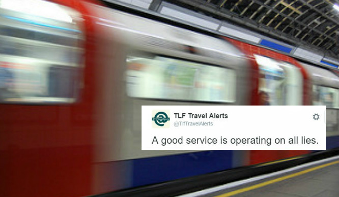21 Hilarious Spoof TFL Tweets Guaranteed To Make Londoners Chuckle