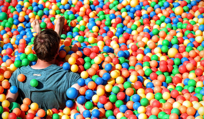 YES WAY! An Underground Adult Ball Pit Is Coming To East London!