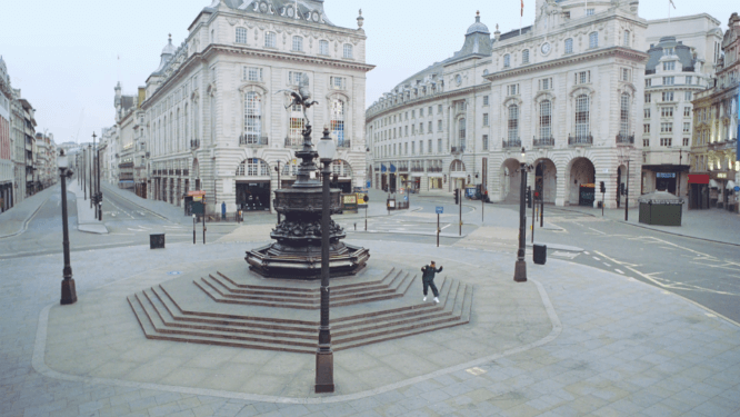 How On Earth Does London Look So Empty In This Video?