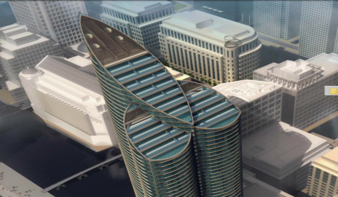 A Dick-and-Balls Shaped Sky Scraper Is Coming To London!