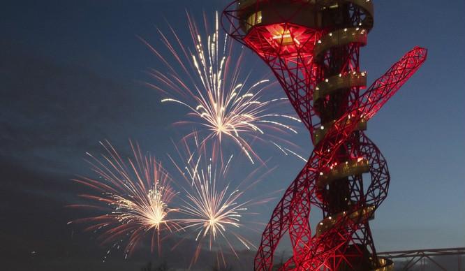You Can Slide Down London's Longest Slide On Fireworks Night!