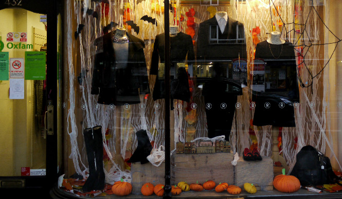 Oxfam Are Setting Up A Charity Halloween Shop In Shoreditch