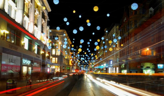 Guess Who's Turning On Oxford Street's Christmas Lights This Weekend