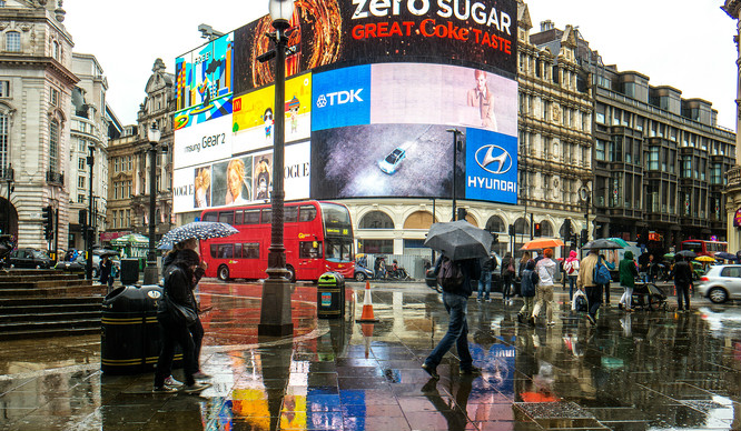 The Billboards At Piccadilly Circus Could Soon Look Very Different