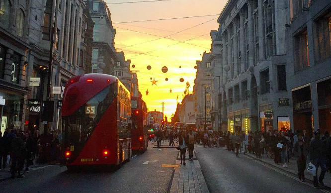 The Oxford Street Christmas Lights Have Already Gone Up, Seriously!